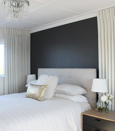 bedroom makeover interior design North Shore Auckland